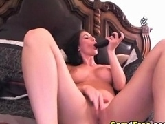 Nice-looking Babe Dildo Orgasm HD