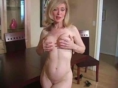 Mature Nina Hartley In Pantyhose...