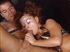 Fantasy table group sex