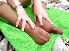 Rosalie Feet - Outdoor Nylon Feet