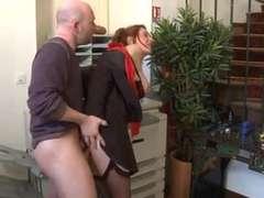 In den arsch, Französisch, Orgasmus