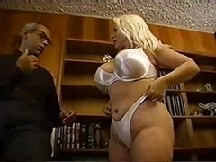 Sexy Dumb Old is Flawless for Group Sex By TROC