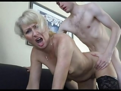 18y Boy Pick A Excited Mom