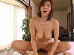 Sizeable breasts Japanese hirsute vagina fucked