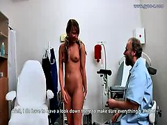 Lexis goes to gyno exam for the no 1 time!