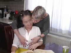 Dirty mom licks and plus makes love sweet legal teen daughter