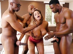 Anal, Doble penetracion, Grupo, Interracial