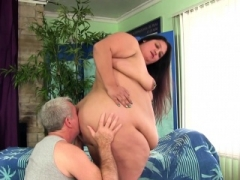 Whopper Lorelai Givemore gets sensual massage