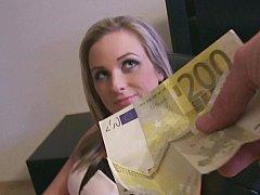 Жопа, Красотки, Блондинки, Европейки, Деньги, От первого лица, Киски, Бритые