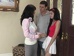 18 años, Hija, Hembra, Novia, Grupo, Maduro, Madres para coger, Realidad