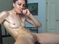 Incredible Bald Mom i`d like to fuck Showing Her Goods