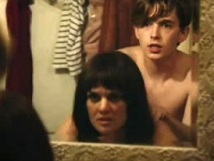 Frankie Shaw breasts and bum in a sex section