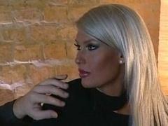 Extremely Beatiful Blonde Brigitta Bulgari