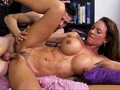 Big titted Franceska Jaimes in action