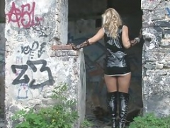 Abandoned places are number one for unclothing