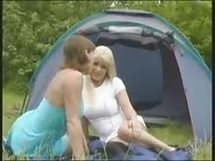 Squirting Lesbo Campers