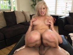 Getting her ass hole stretched proved to be a lovely fun time