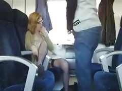Public Sex In The Train With Bus...