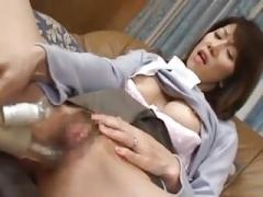 Misu grown-up japanese milf wank