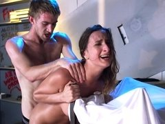 Ashley Adams finds out what huge cock sex feels like