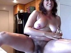 Hirsute mom