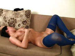 Sexy Babe with Stockings