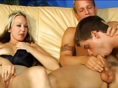 We can take turns giving head his big cock