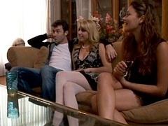 Rich teens participate in orgy