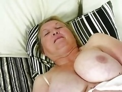 Fat Granny and her Sex Toy
