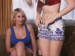Help from her step mom