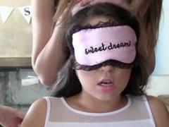 blindfolded legal teen fingered porno