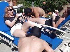 Mistress with Charming Legs (Leg Fetish)