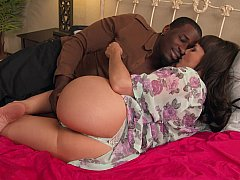 Interracial endeavour with sexy lovers
