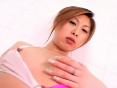 Makoto Amano loves touching the vagina & ass like that