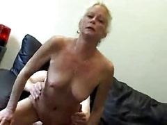 Granny Gives head Gets down and dirty And Swallows !