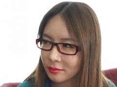 KOREA1818.COM - Korean Dame in Spectacle Glasses