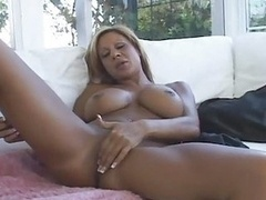 A pair of Milfs In Strapon And additionally Masturbation Ac...