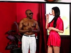 Interracial massage madness
