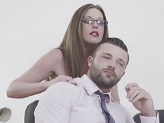 Girls - Office Obsession - Kiss and also Tell starring Max Deeds