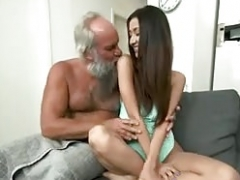 Aged fella Appreciate Miss Lee Young-looking pretty brown chick
