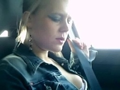 Squirt in car