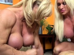 Nude Female Bodybuilders Sex Up Lucky Lad