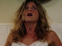 Jennifer Aniston Bruce Almighty Bathroom Orgasm