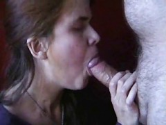 Swedish Mature Cock sucking & Facial cumshot