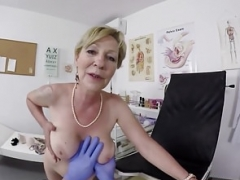 shaggy granny pov fucked by her doctor