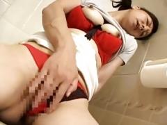 Hot Japanese Eager mom Jack off 23