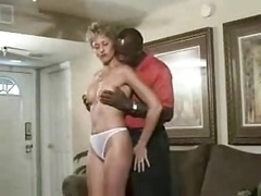 Aroused wife and plus black dude going wild