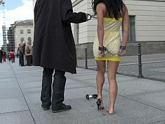 Public nudity and domination