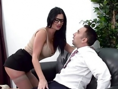 Lustful skank Jasmine Jae is ready to take it up the tooshie