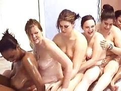 6 girl oil time